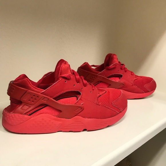 Nike Shoes | Boys Red Nike Hurraches